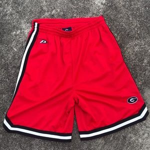 Vintage Pro Player Georgia Bulldog B-Ball Shorts